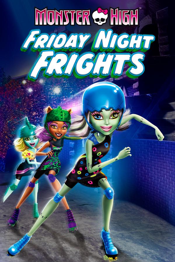 Monster High: Hrůzy pátečních večerů online