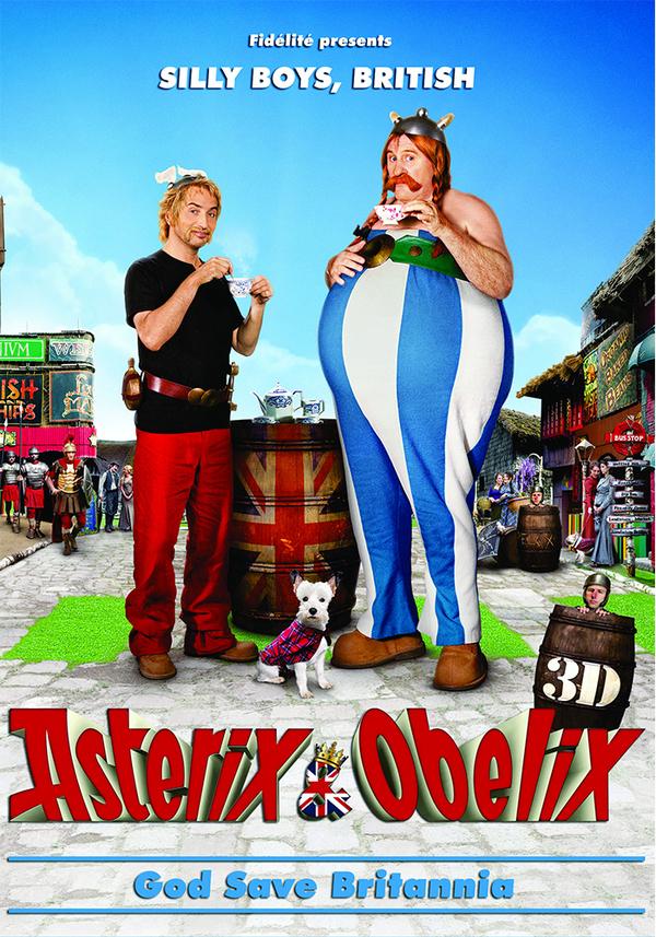 Asterix a Obelix ve službách Jejího Veličenstva - Tržby a návštěvnost