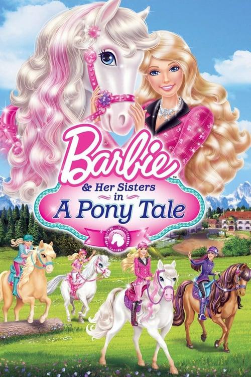 Barbie a poníkova akademie online