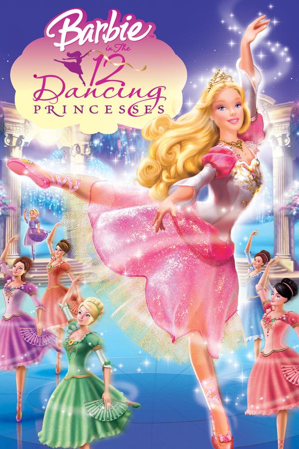 Barbie a 12 tančících princezen online