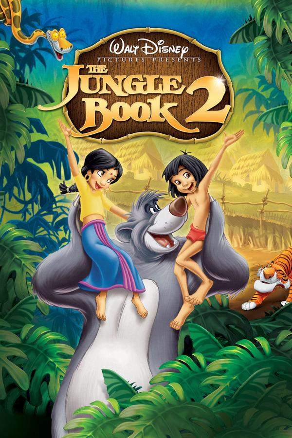 Kniha džunglí 2 online