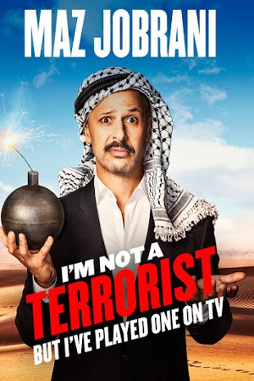 Maz Jobrani: I'm Not a Terrorist, But I've Played One on TV online