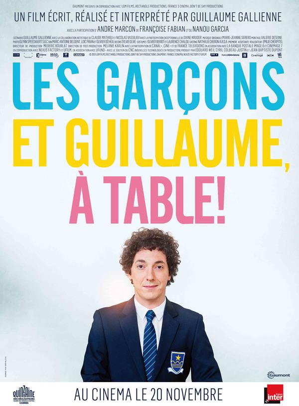Kluci a Guillaume, ke stolu! online