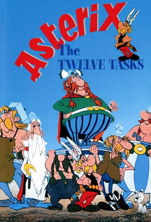12 úkolů pro Asterixe online