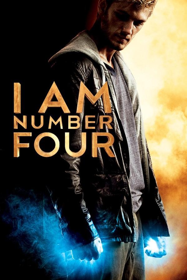 Jsem číslo čtyři online