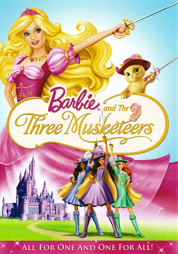 Barbie a tři mušketýři online