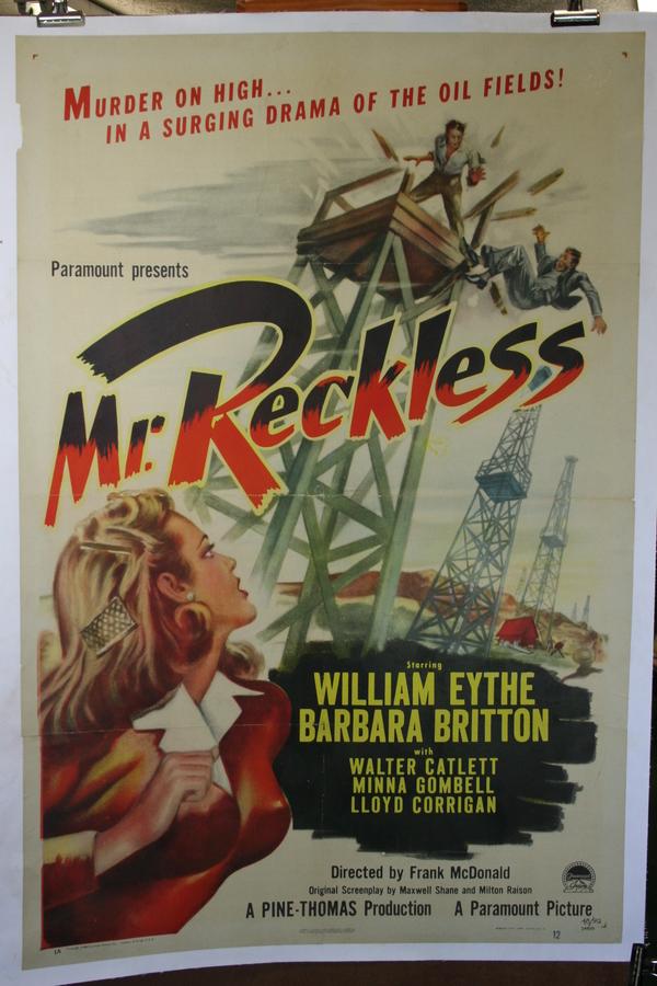 Mr. Reckless online