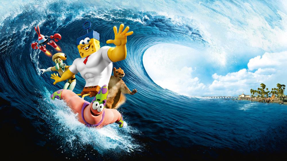 SpongeBob ve filmu: Houba na suchu online