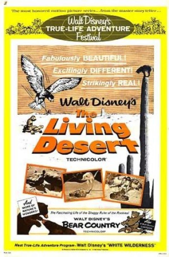 Živoucí poušť online