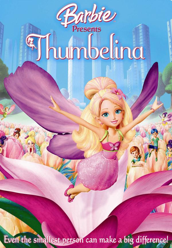 Barbie uvádí Thumbelina  online