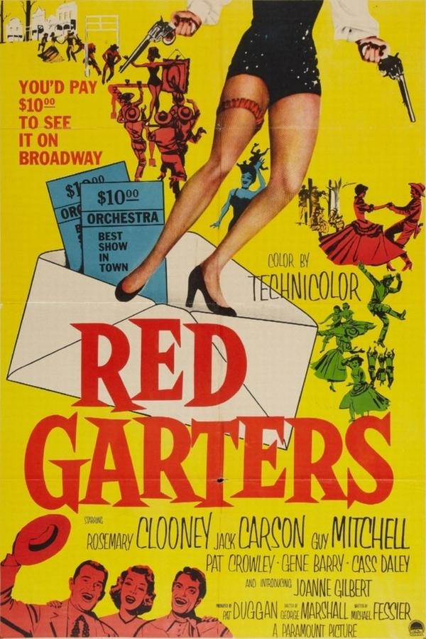 Red Garters online