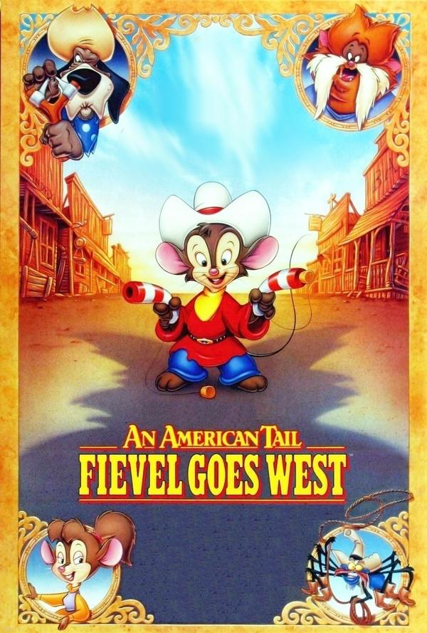 Americký ocásek 2 – Fievel na Divokém západě online