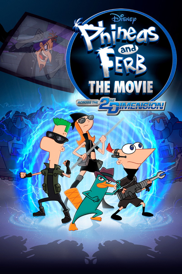 Phineas a Ferb v paralelním vesmíru online