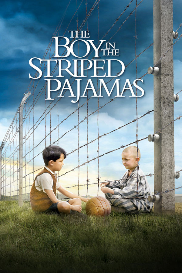 Chlapec v pruhovaném pyžamu online