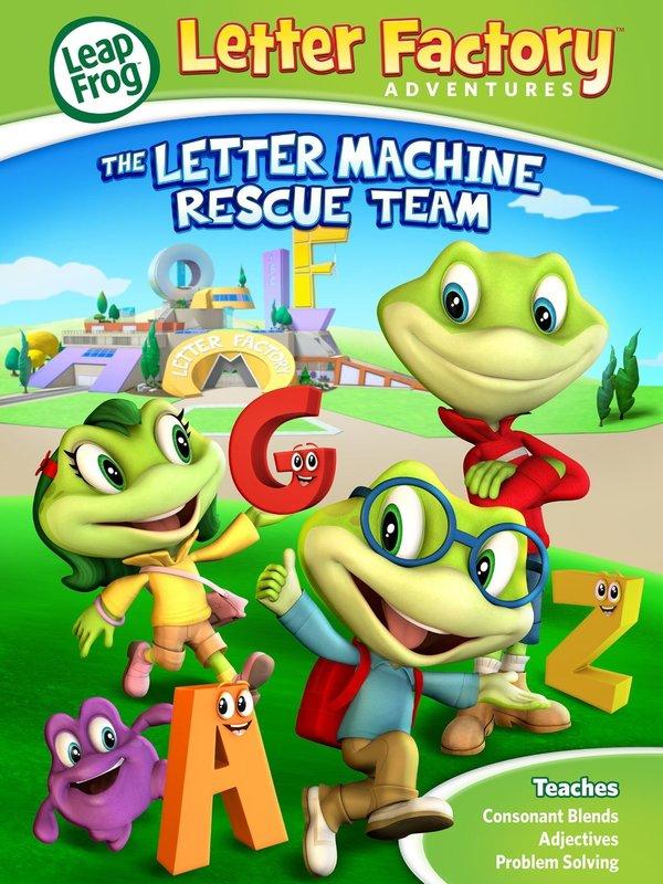 Leapfrog: Letter Factory Adventures - The Letter Machine Rescue Team online