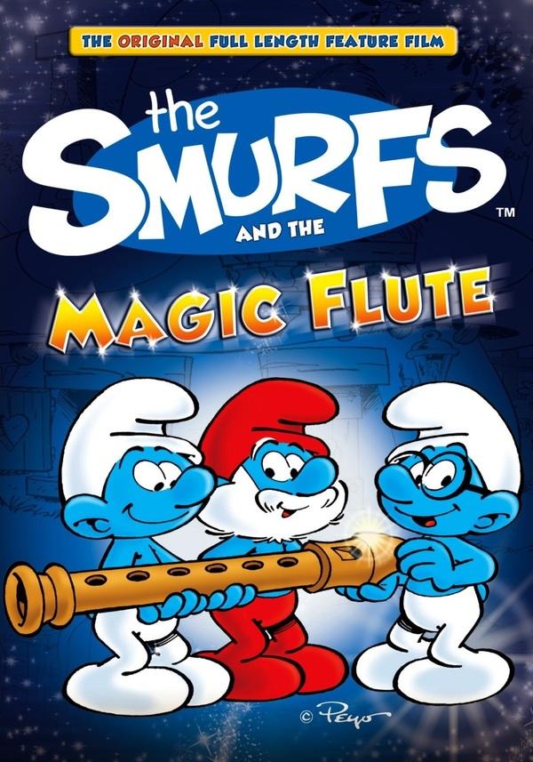 Šmoulové a kouzelná flétna online
