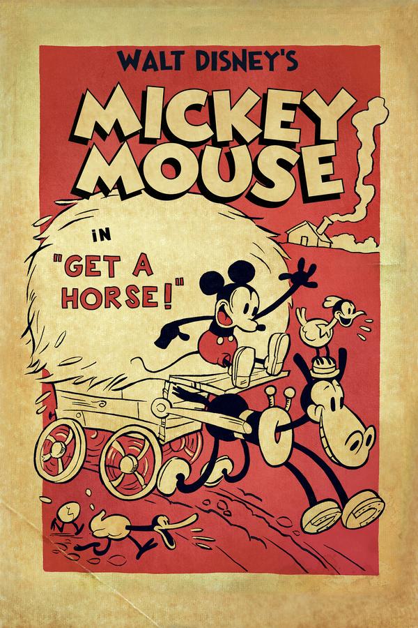 Mickeyho velká jízda online