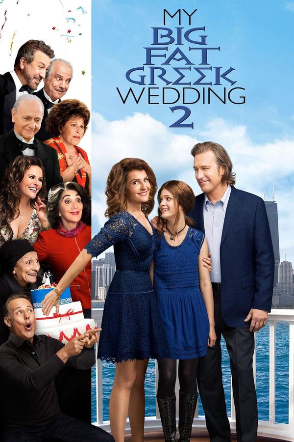 Moje tlustá řecká svatba 2 online