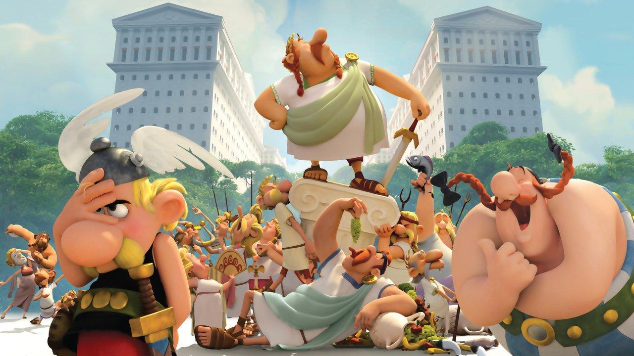 Asterix: Sídliště bohů online