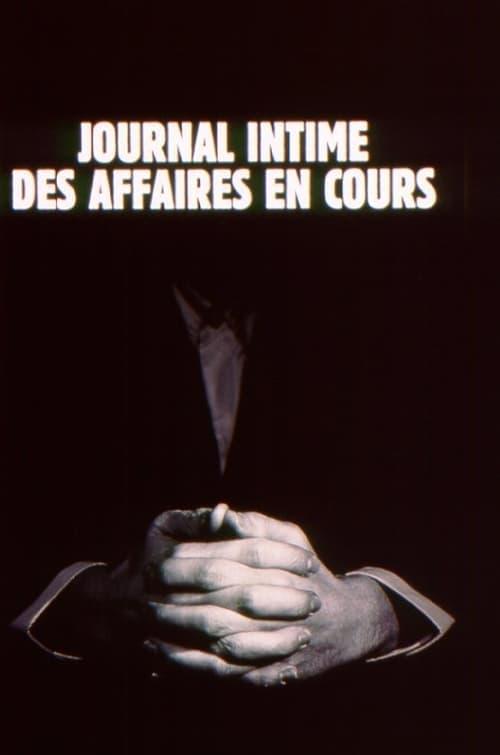 Journal intime des affaires en cours online