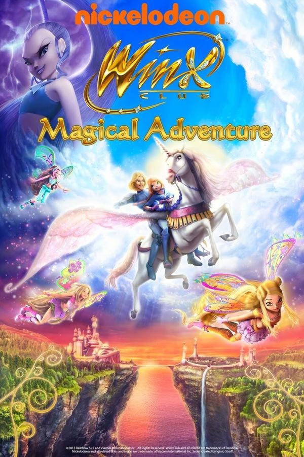 Winx Club: Magické dobrodružství online