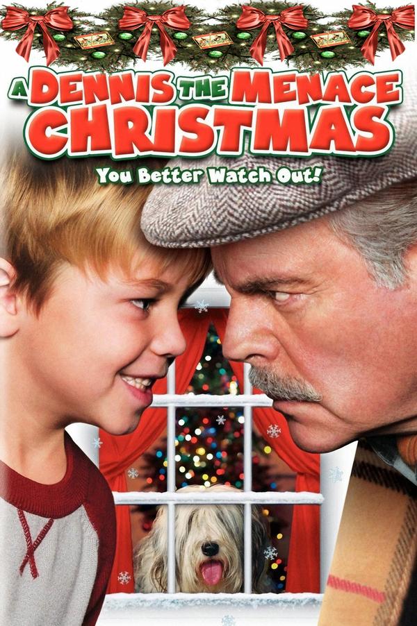 Postrach Dennis o Vánocích online