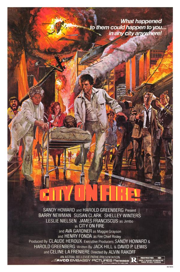 Hořící město online