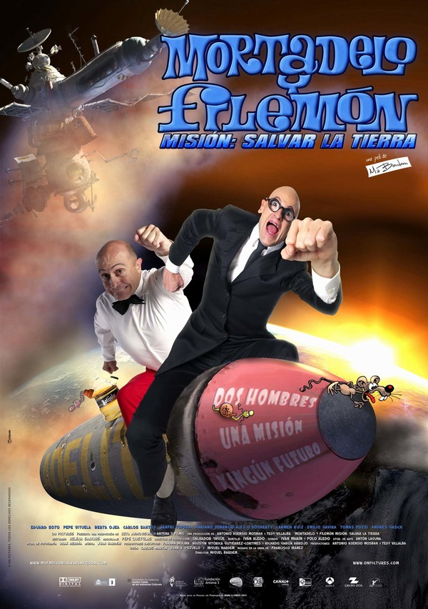 Mortadelo & Filemon Mission Save the Planet