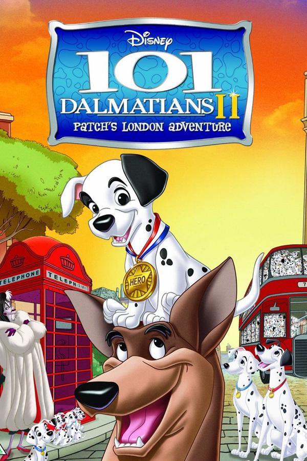 101 dalmatinů II. - Flíčkova londýnská dobrodružství online