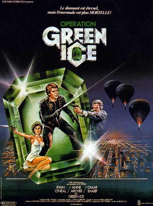 Zelený led online