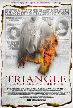 Požár v továrně Triangle online