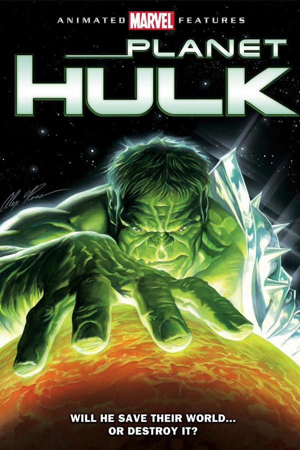 Hulk na neznámé planetě  online