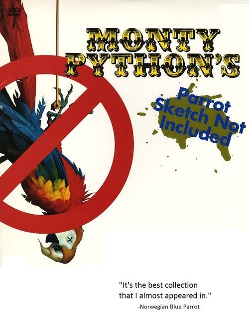 Parrot Sketch Not Included: Twenty Years of Monty Python online