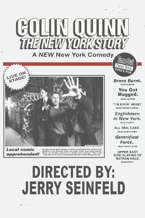 Colin Quinn: The New York Story online