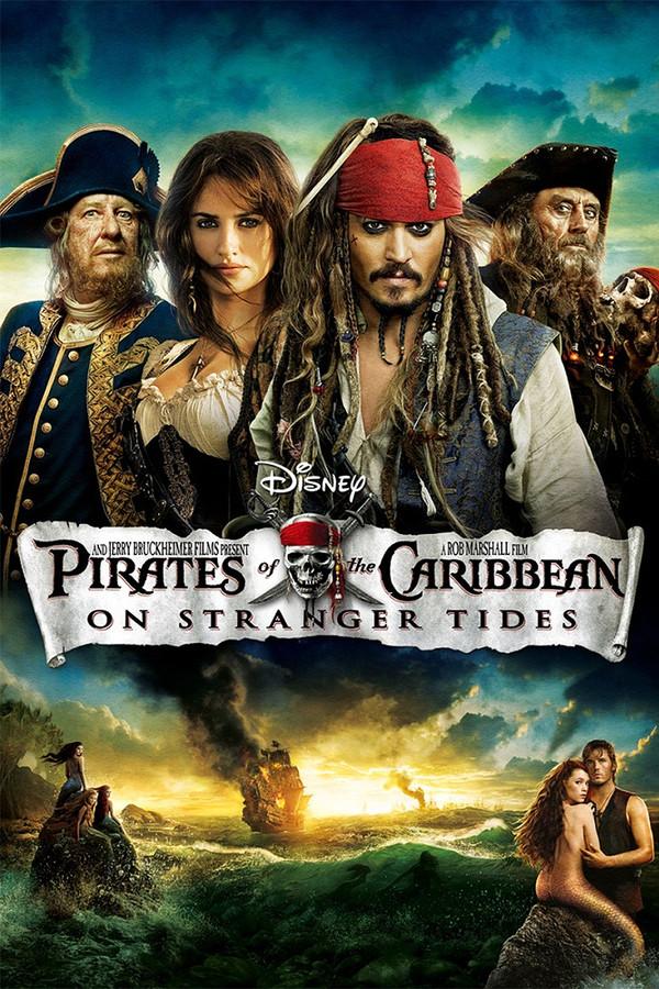 Piráti Karibiku 4: V neznámych vodách online