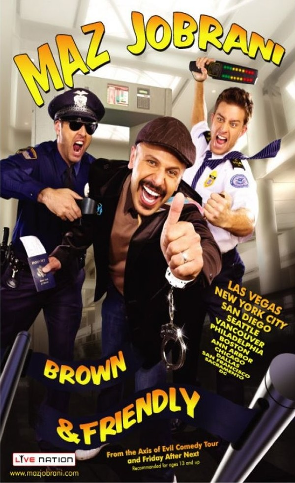 Maz Jobrani: Brown and Friendly online
