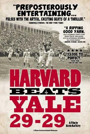 Harvard Beats Yale 29-29 online