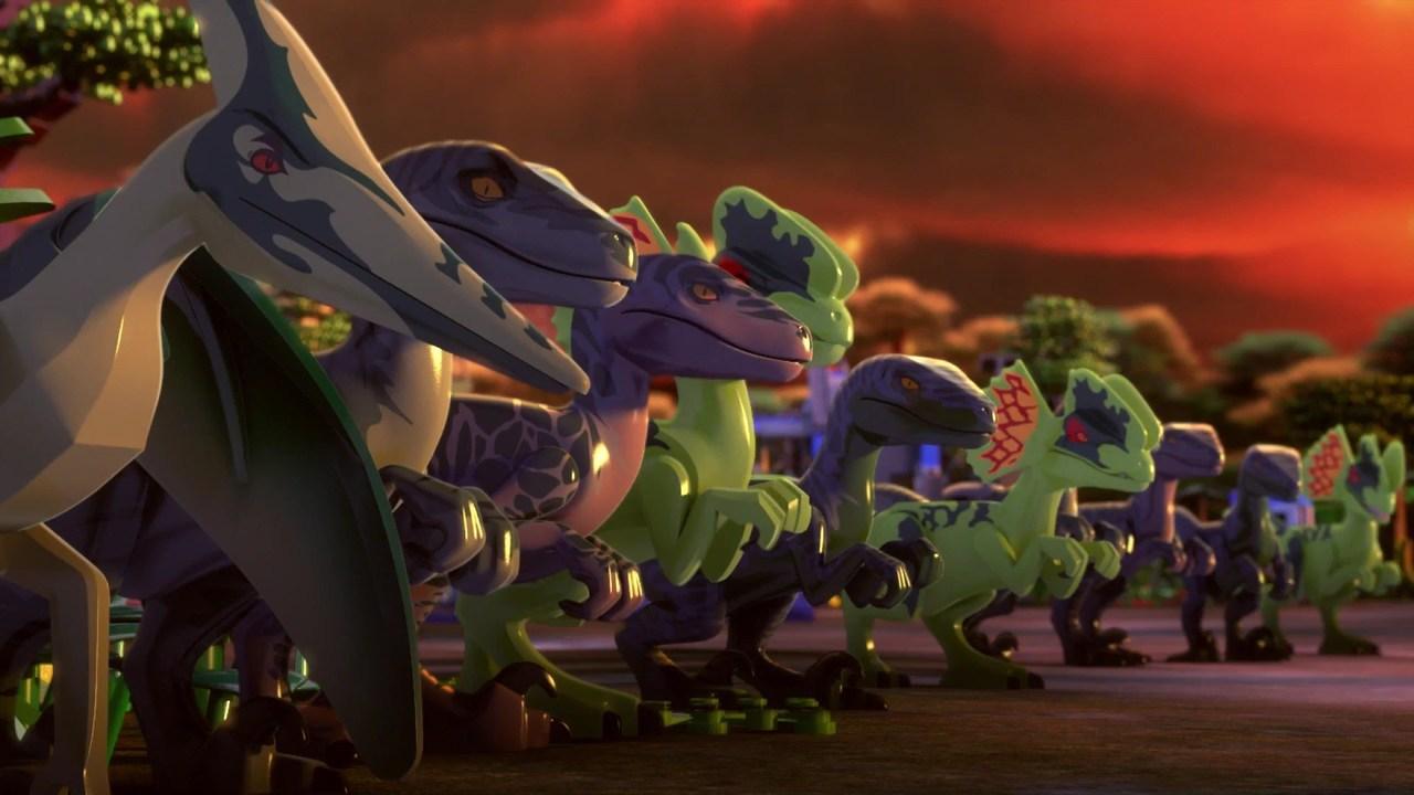 LEGO Jurassic World: The Indominus Escape online