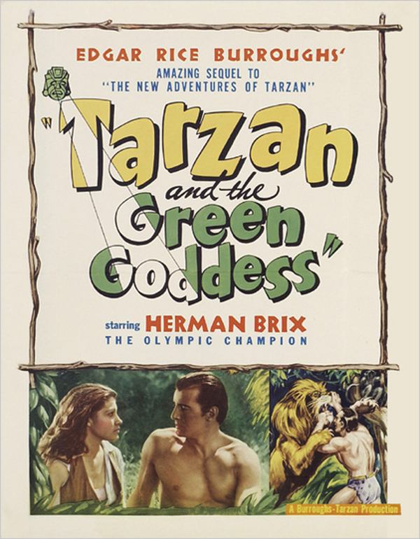 Tarzan and the Green Goddess online
