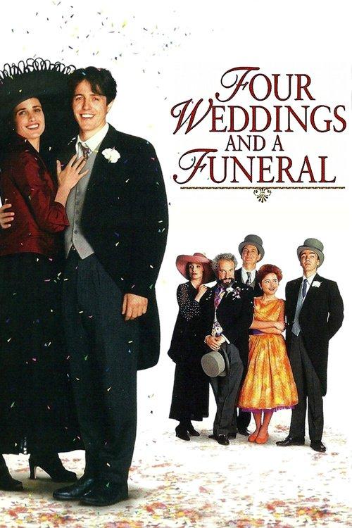 Čtyři svatby a jeden pohřeb - Tržby a návštěvnost