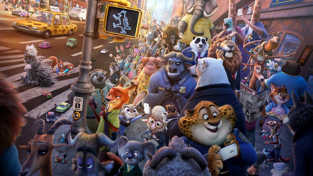 Zootropolis: Město zvířat online