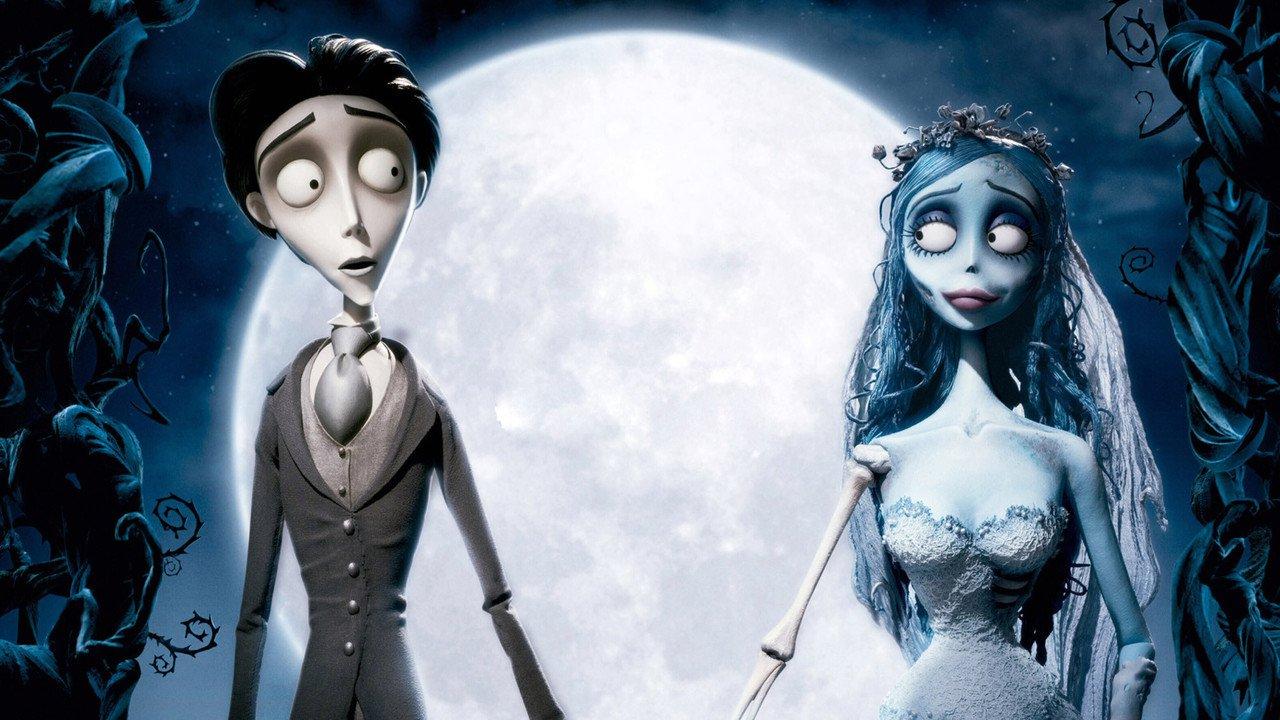Mrtvá nevěsta Tima Burtona online