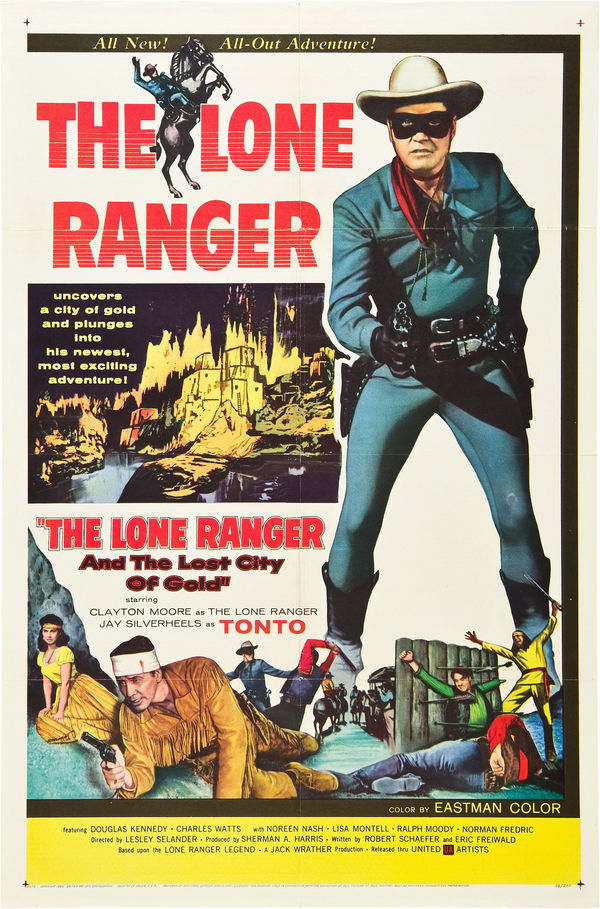 The Lone Ranger and the Lost City of Gold online