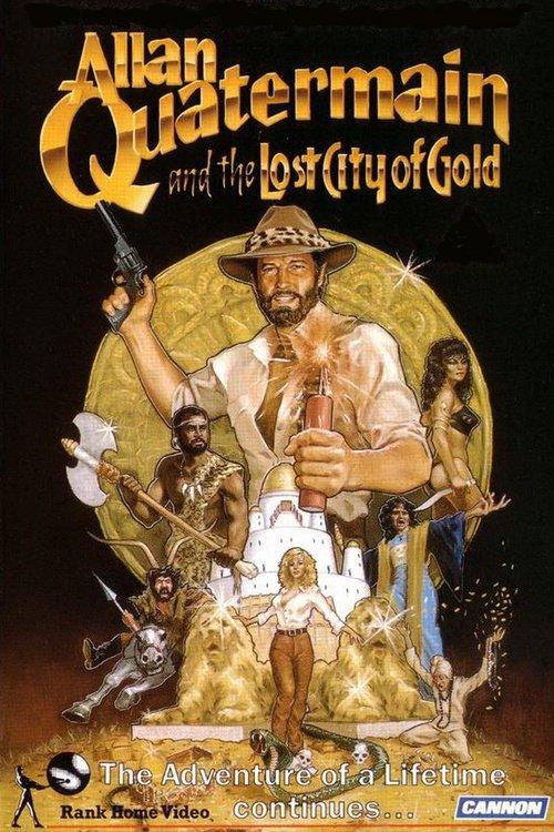 Allan Quatermain a Ztracené Město Zlata online