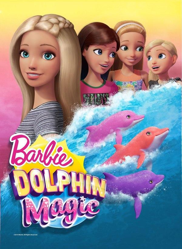 Barbie - magický delfín online