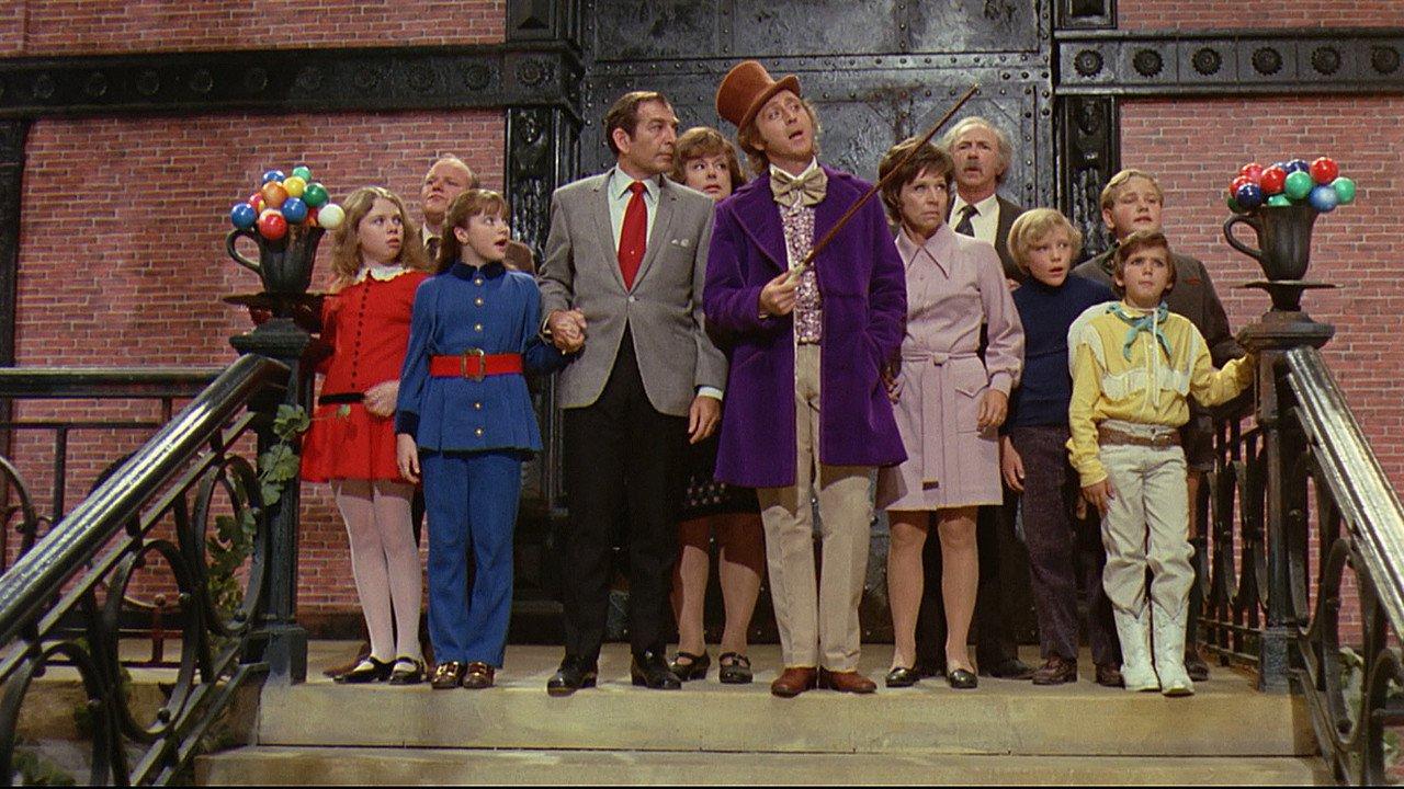 Pan Wonka a jeho čokoládovna / Karlík a továrna na čokoládu