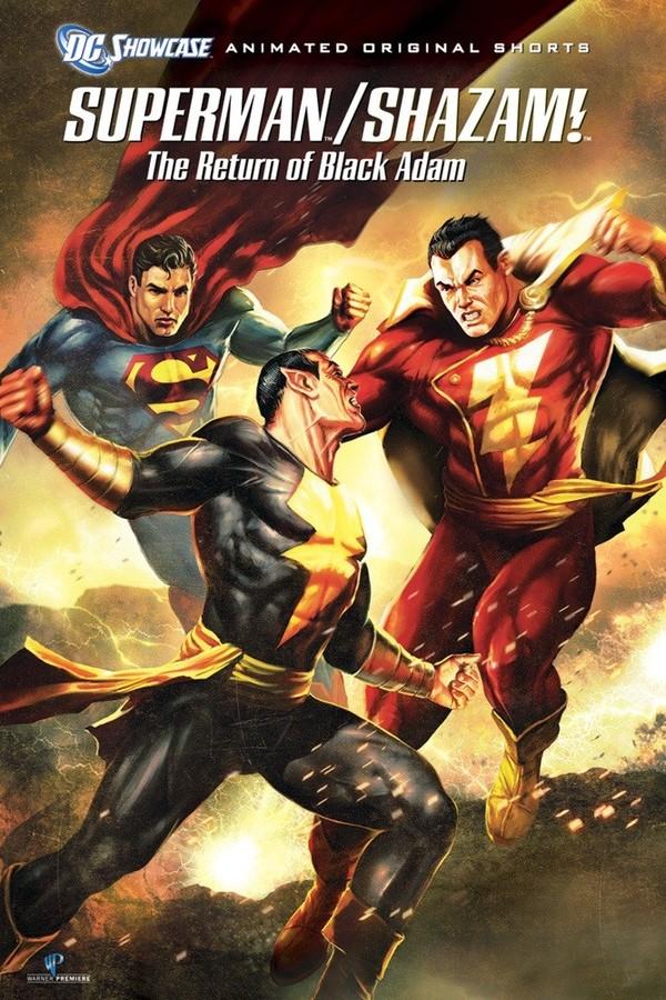 Superman/Shazam!: Návrat černého Adama online