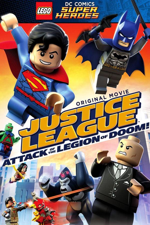 Lego: Liga spravedlivých vs Legie zkázy online