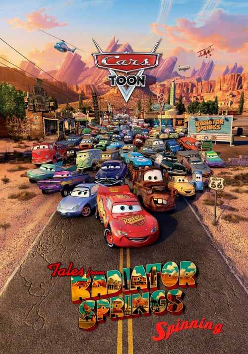 Cars Toons: Spinning online