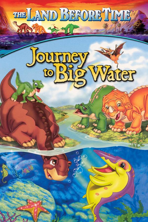 Země dinosaurů 9 - Putování za velkou vodou online
